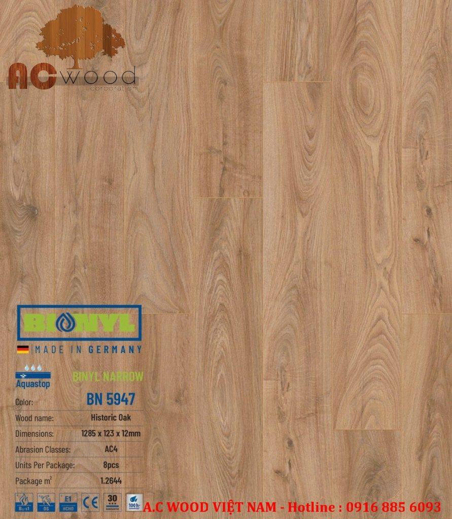 sàn gỗ binyl mới nhất