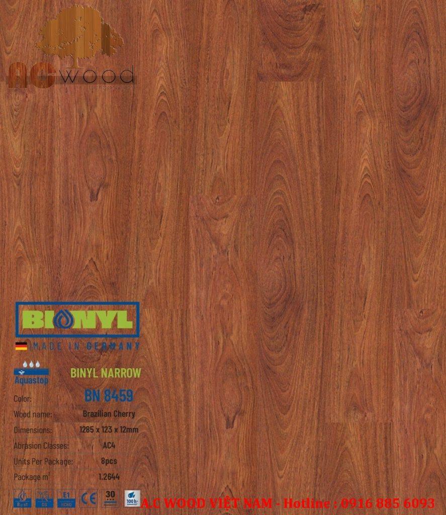 sàn gỗ binyl báo giá