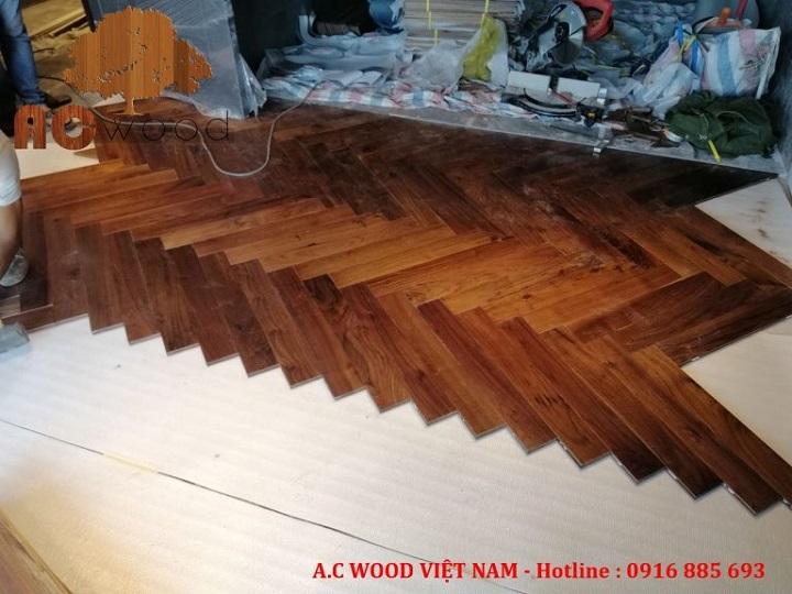 sàn gỗ xương cá tại tphcm