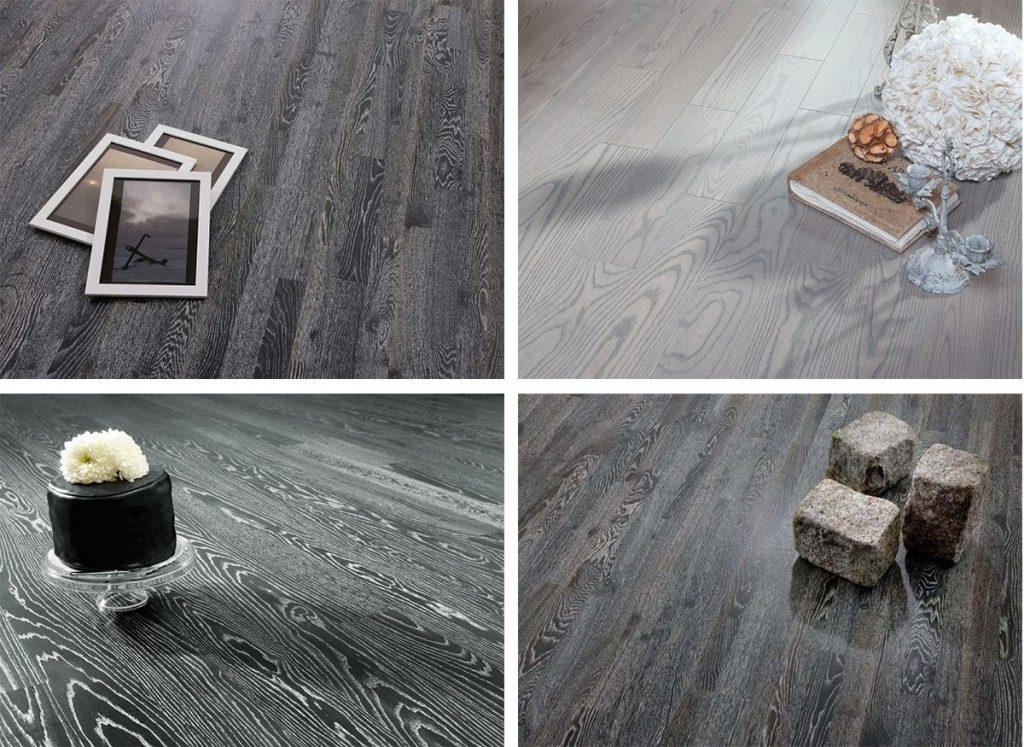 có nên sử dụng sàn gỗ màu xám
