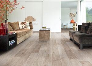 sàn gỗ theo phong cách cổ điển Châu Âu