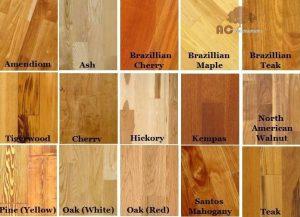 Cách phân biệt các loại sàn gỗ tự nhiên