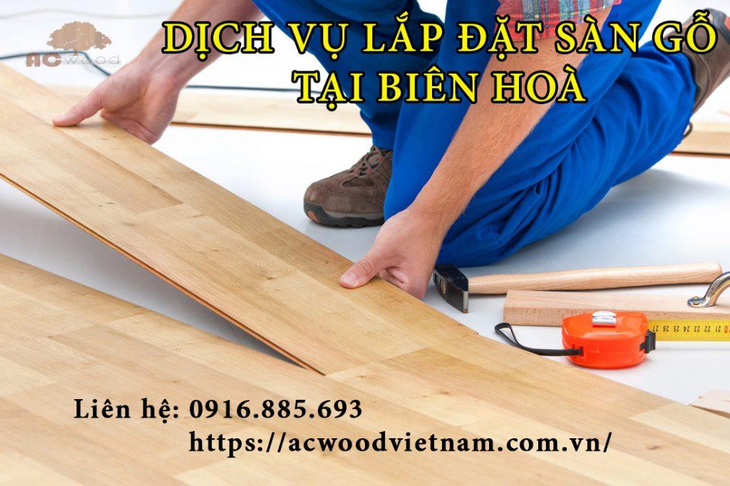 Lắp đặt sàn gỗ tại Biên Hòa